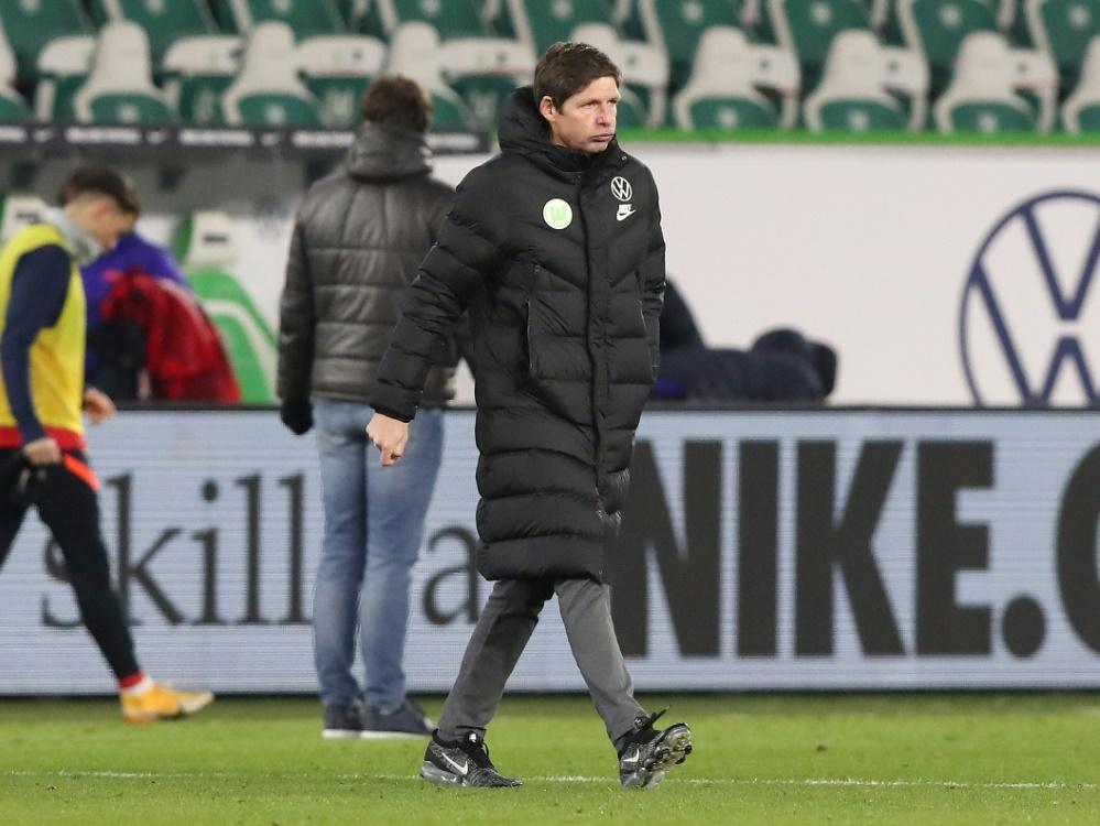 Glasner erwartet Leistungssteigerung seiner Mannschaft. ©FIRO/SID