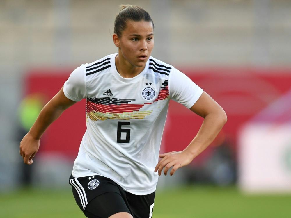 Nationalspielerin Lena Oberdorf . ©SID CHRISTOF STACHE
