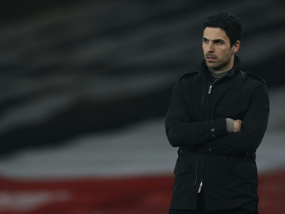 Mikel Arteta will schnell Klarheit bei Özil Transfer. ©SID ADRIAN DENNIS