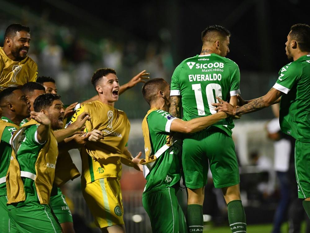 Brasilien: Chapecoense ist zurück in der ersten Liga. ©SID NELSON ALMEIDA