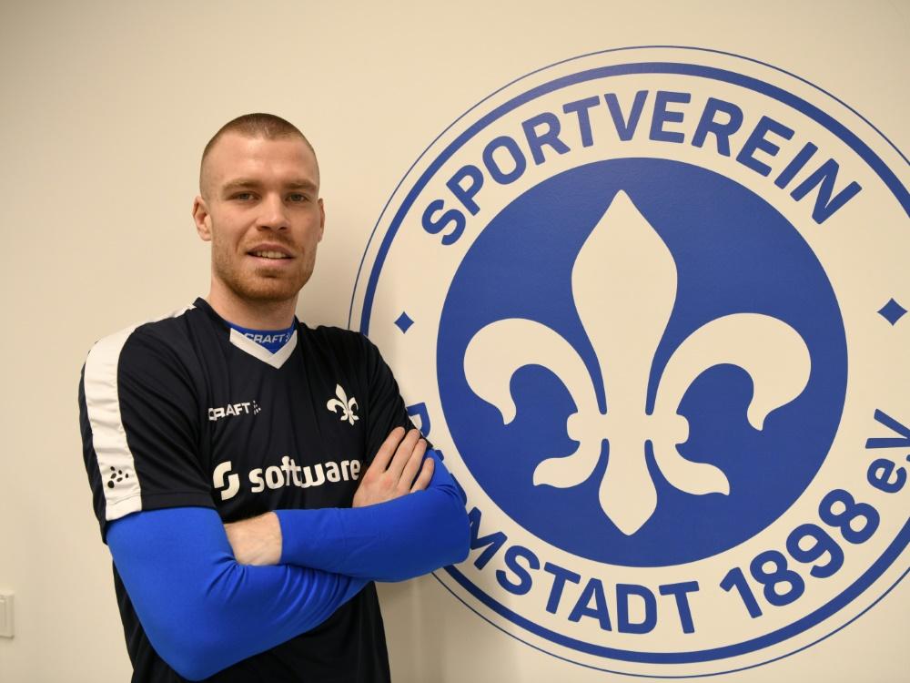 Darmstadt verpflichtet Verteidiger Thomas Isherwood. ©SV Darmstadt 98/SV Darmstadt 98