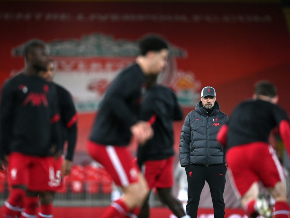 FA-Cup: Klopp trifft mit Liverpool auf ManUnited. ©SID LAURENCE GRIFFITHS