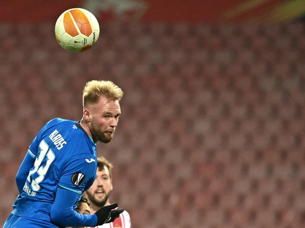 Joao Klauss wird an Standard Lüttich verliehen. ©SID ANDREJ ISAKOVIC