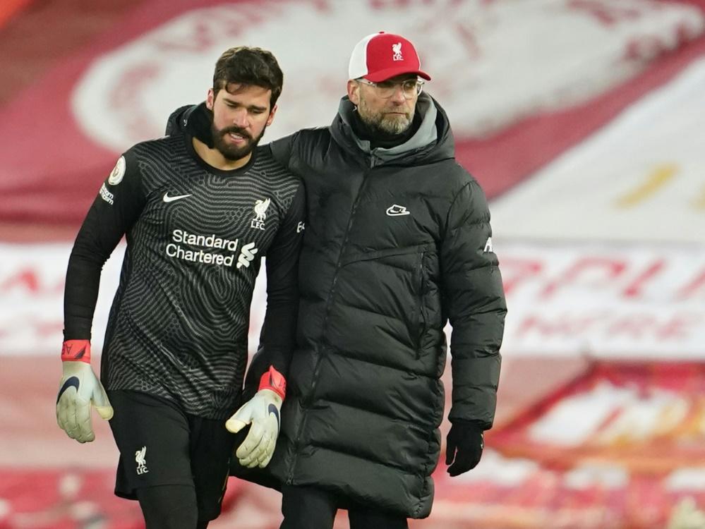 Erste Liga-Heimniederlage für Liverpool seit April 2017. ©SID JON SUPER