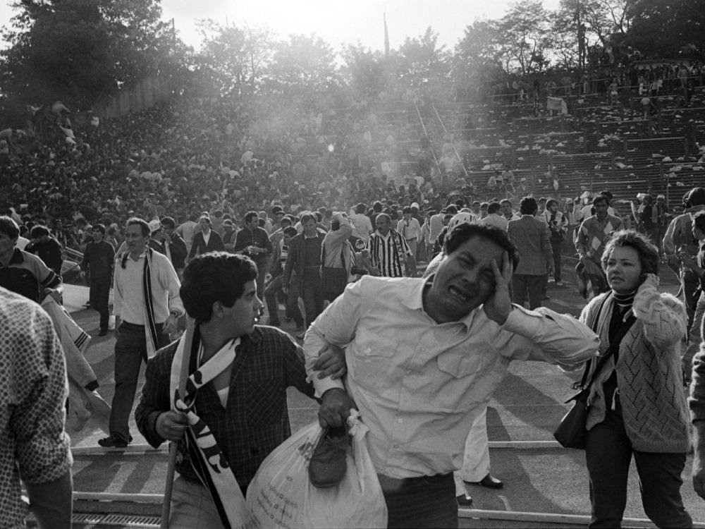 Heysel-Katastrophe: 39 Menschen verloren ihr Leben. ©SID DOMINIQUE FAGET