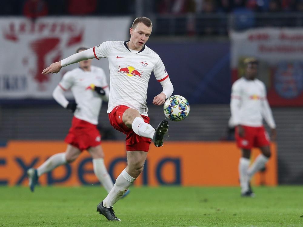 Hat große Ziele mit Leipzig: Lukas Klostermann. ©SID RONNY HARTMANN