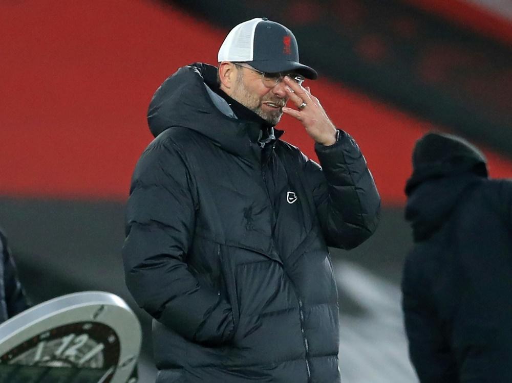 Jürgen Klopps Mannschaft befindet sich in einem Tief. ©SID ADAM DAVY