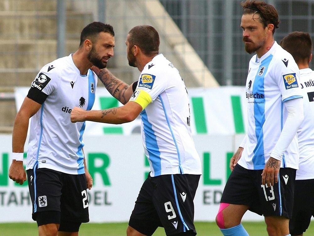 1860 München gewinnt das Derby gegen Bayern München II. ©FIRO/SID