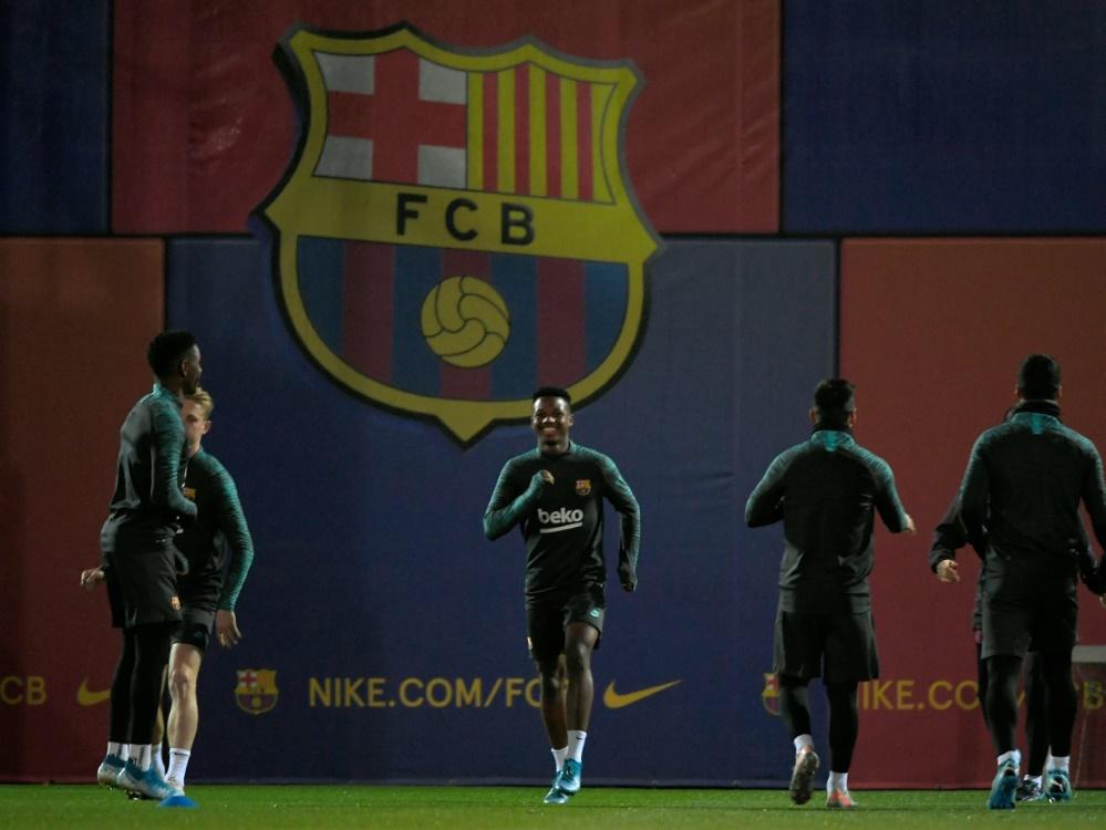 Zwei Coronafälle beim FC Barcelona. ©SID LLUIS GENE