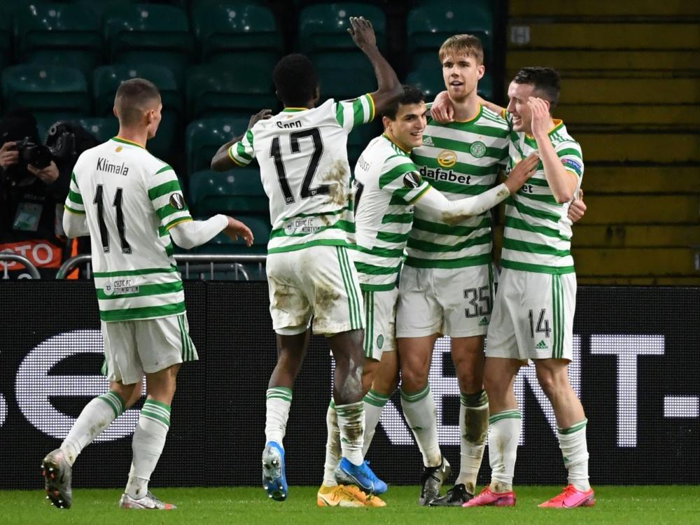 Celtic liegt in der Liga schon weit hinter den Rangers. ©SID ANDY BUCHANAN