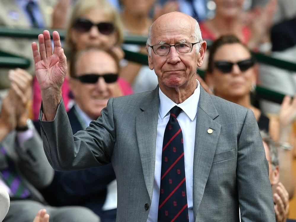 Auch Fußball-Legende Charlton ist an Demenz erkrankt. ©SID BEN STANSALL