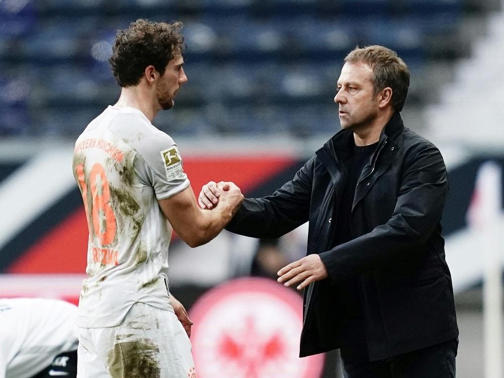Leon Goretzka steht gegen Lazio in der Startelf. ©FIRO/SID
