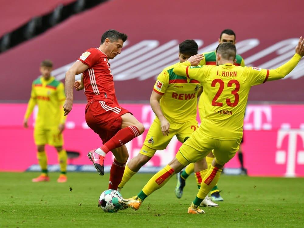 Lewandowski mit Doppelpack gegen Köln. ©SID KERSTIN JOENSSON