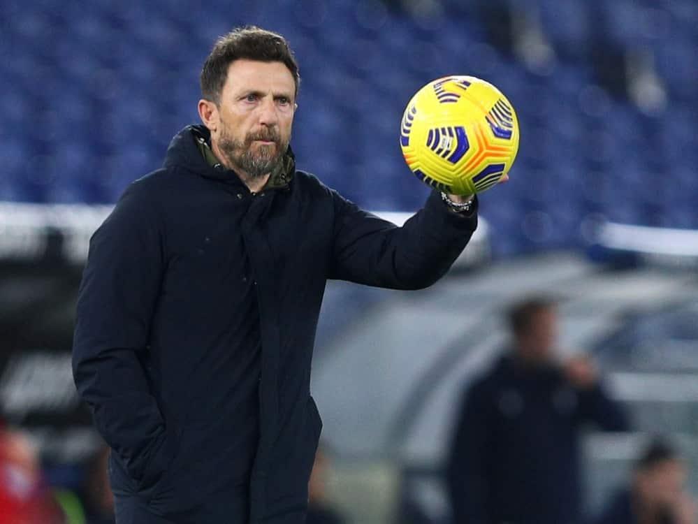 Cagliari entlässt Trainer Di Francesco. ©FIRO/SID