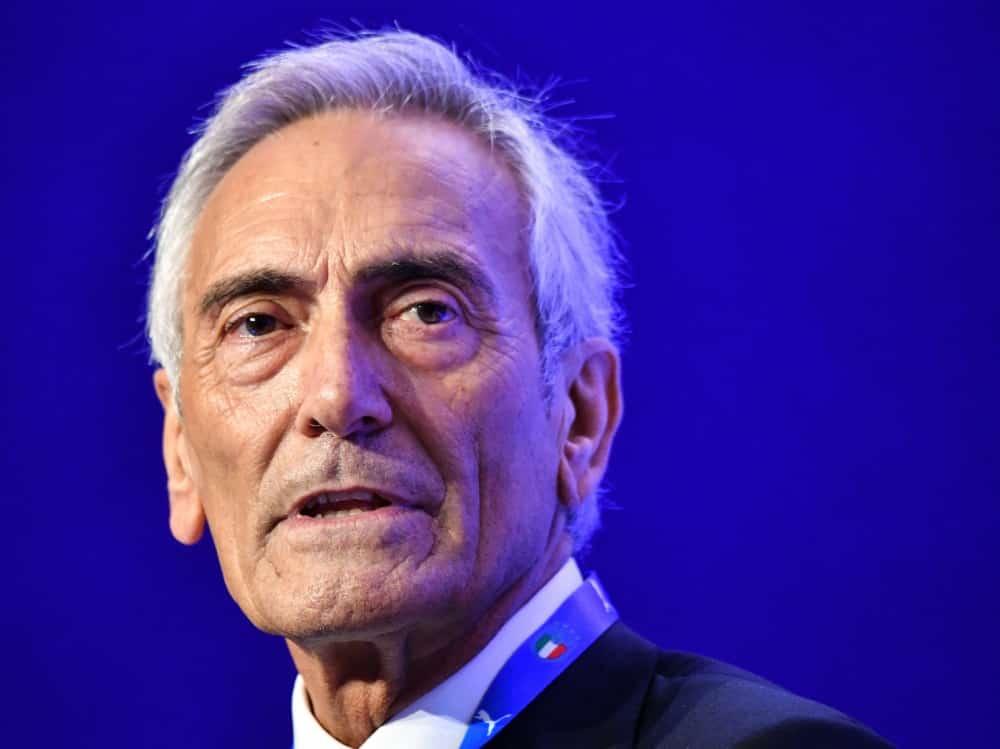 Weitere drei Jahre Präsident des FIGC: Gabriele Gravina. ©SID ALBERTO PIZZOLI
