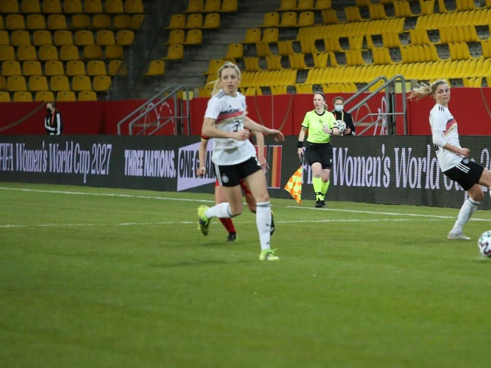Ausfälle bei der Frauen-Nationalmannschaft. ©FIRO/SID