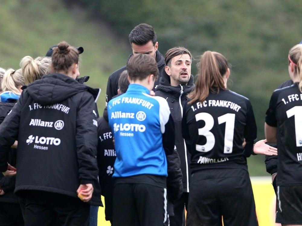 Drei positive Befunde bei den Eintracht-Frauen. ©FIRO/SID