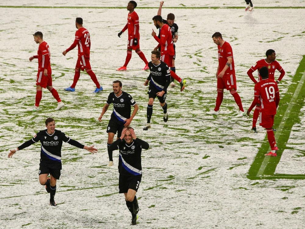 Bielefeld holt gegen Bayern München einen Punkt. ©SID ADAM PRETTY
