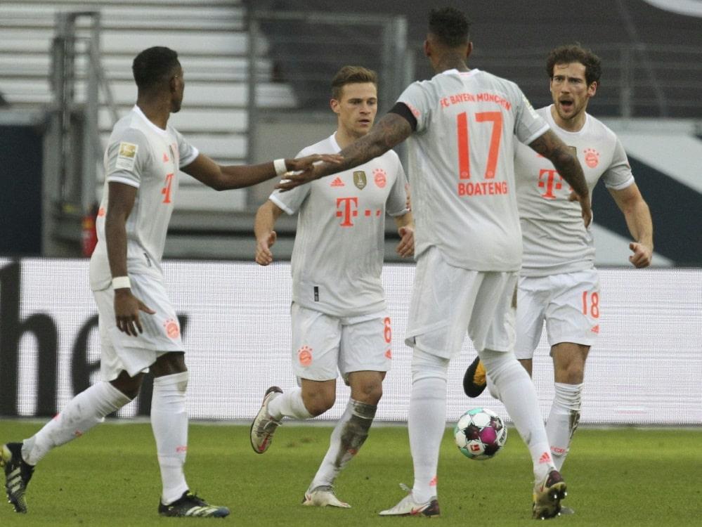 Bayern ist Favorit gegen Lazio . ©SID DANIEL ROLAND