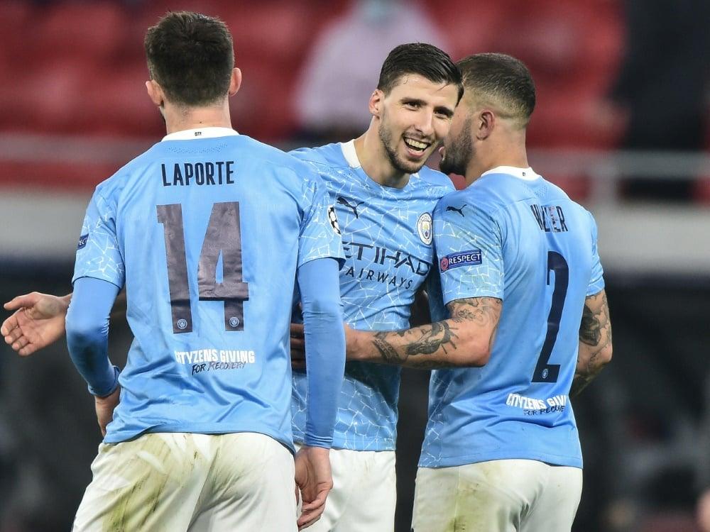 Manchester City festigt die Tabellenführung in England. ©SID ATTILA KISBENEDEK