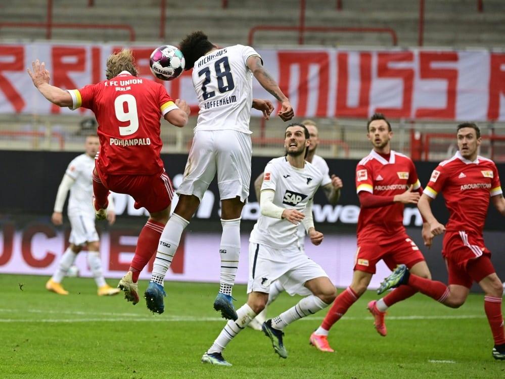 Union kann gegen Hoffenheim nur ein Untentschieden holen. ©SID TOBIAS SCHWARZ