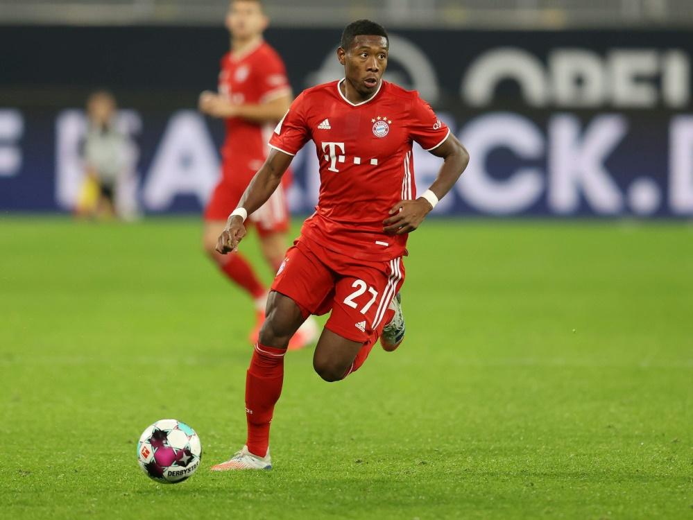 Alaba verlässt Bayern. ©FIRO/SID
