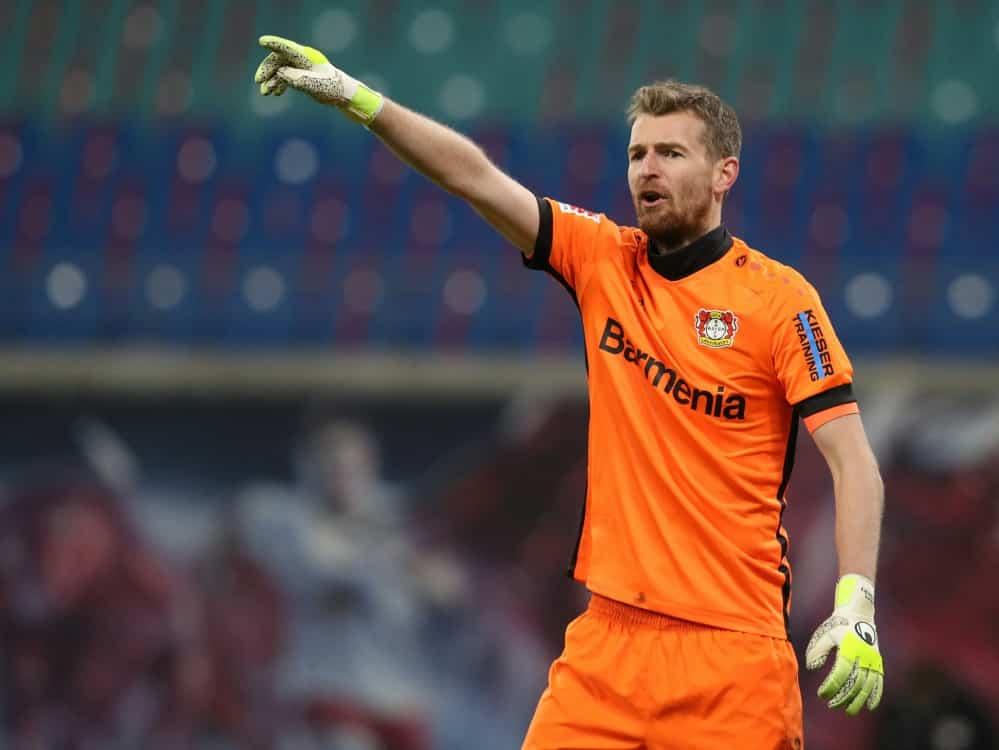 Leverkusen muss weiter auf Hradecky verzichten. ©SID RONNY HARTMANN