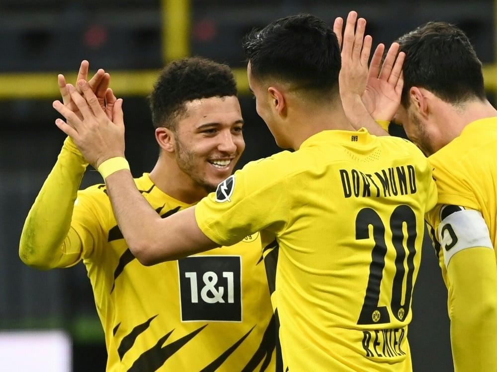 BVB ohne Schlüsselspieler nach München. ©POOL/AFP Ina Fassbender