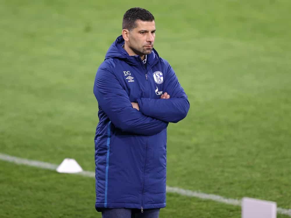 Auch mit Dimitrios Grammozis kein Sieg für Schalke. ©FIRO/SID
