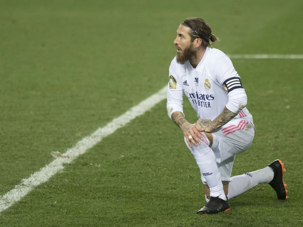 Real stellt seinem Kapitän Ramos ein Ultimatum. ©SID JORGE GUERRERO