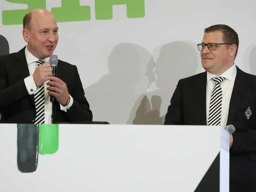 Mönchengladbach machte aufgrund der Pandemie Verlust. ©FIRO/SID