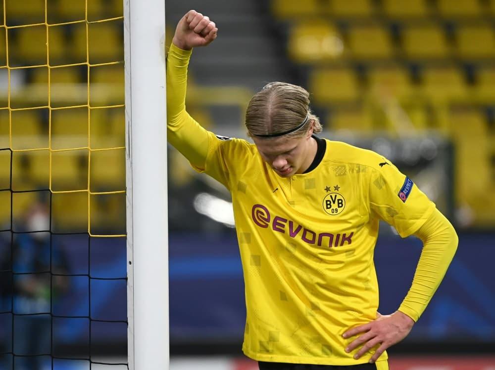 Der BVB scheitert gegen Manchester City im Viertelfinale. ©POOL/AFP Ina Fassbender