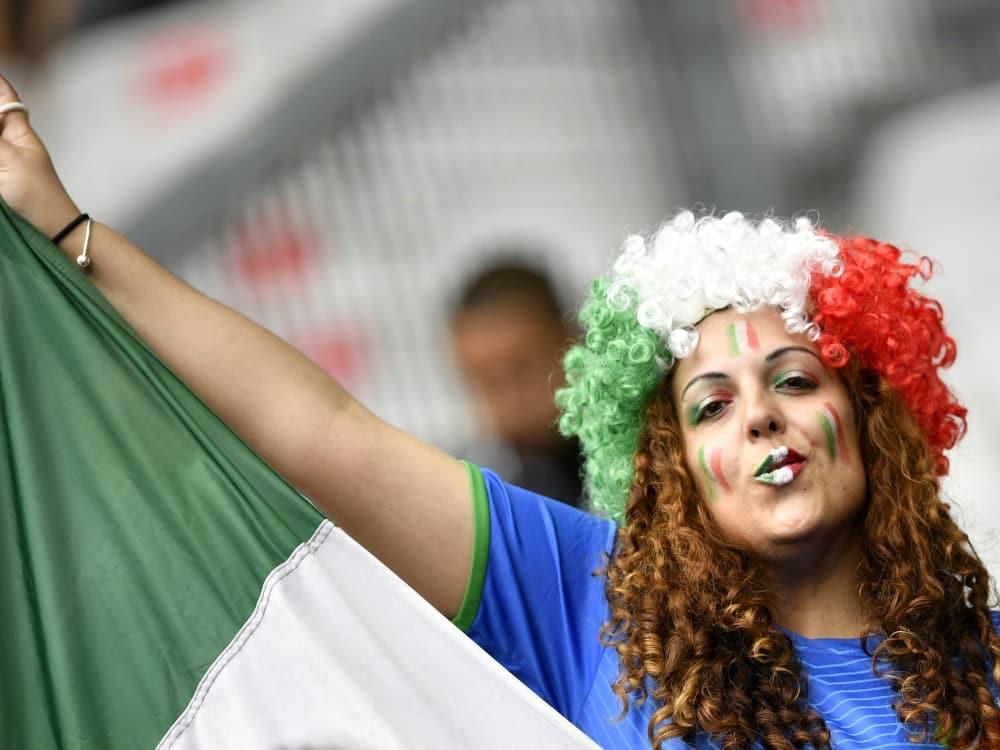 EM: In Rom sollen bis zu 15.000 Fans zugelassen werden. ©SID MARTIN BUREAU