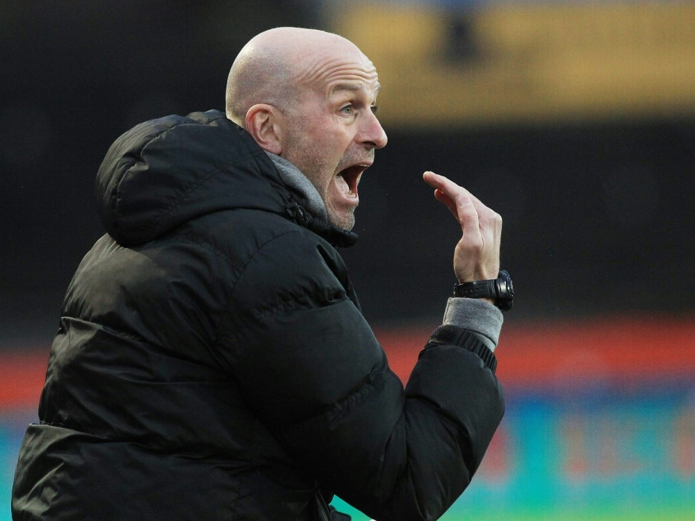 Kaiserslauterns Cheftrainer Marco Antwerpen. ©FIRO/SID