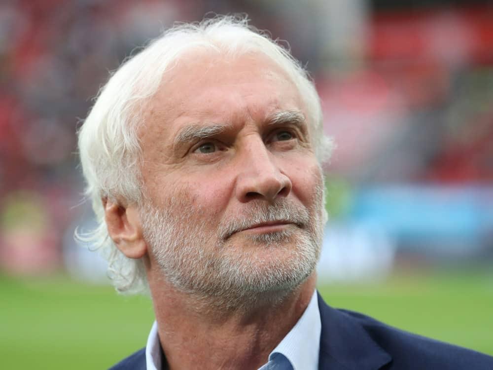 Völler fordert Konsequenzen für Super-League-Teilnehmer. ©FIRO/SID