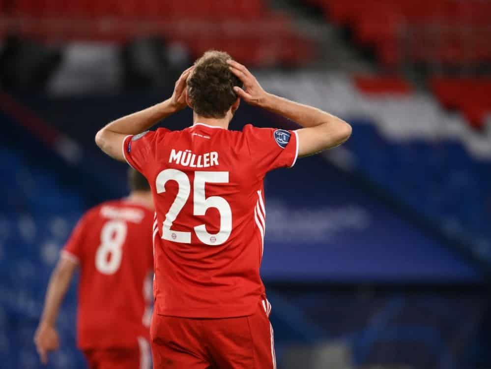 Bayern und Müller sind ausgeschieden. ©SID FRANCK FIFE