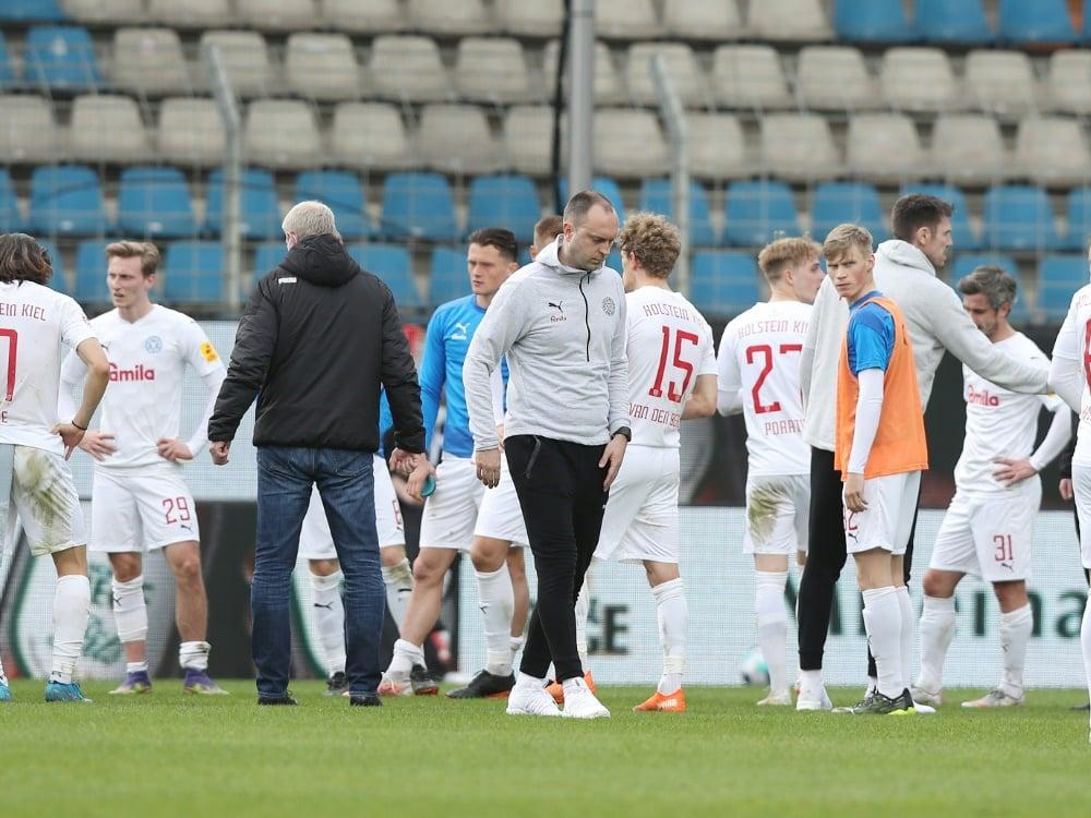 Holstein Kiel hat das Topspiel gegen VfL Bochum verloren. ©FIRO/SID