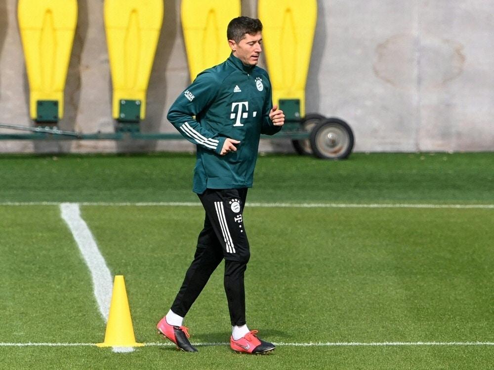 Lewandowski-Comeback wohl erst gegen Bayer Leverkusen. ©SID CHRISTOF STACHE