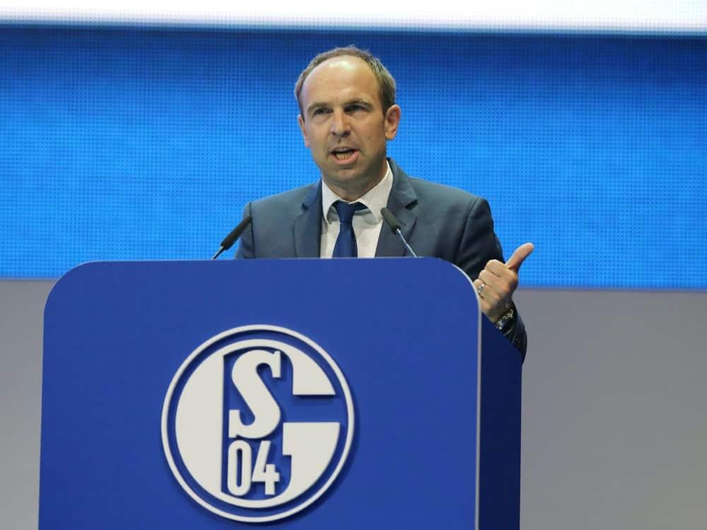 Schalkes Marketing-Chef Alexander Jobst legt Amt nieder. ©FIRO/SID