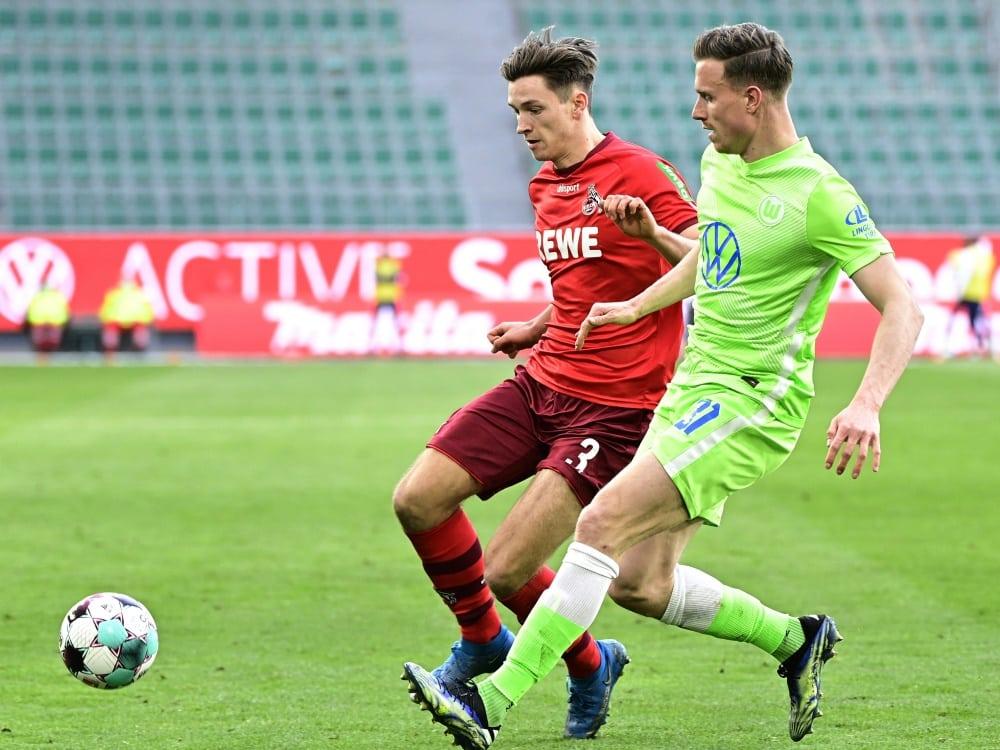 Köln verliert gegen Wolfsburg mit 1:0. ©SID TOBIAS SCHWARZ