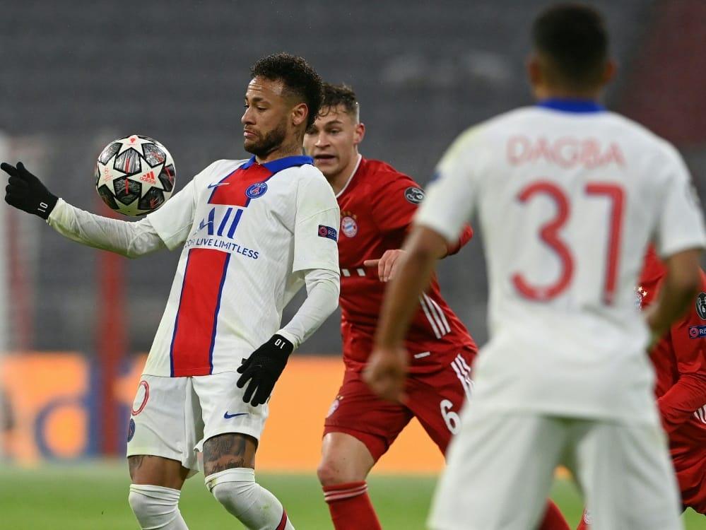 Neymar und Co. schlagen die Bayern mit 3:2. ©SID CHRISTOF STACHE