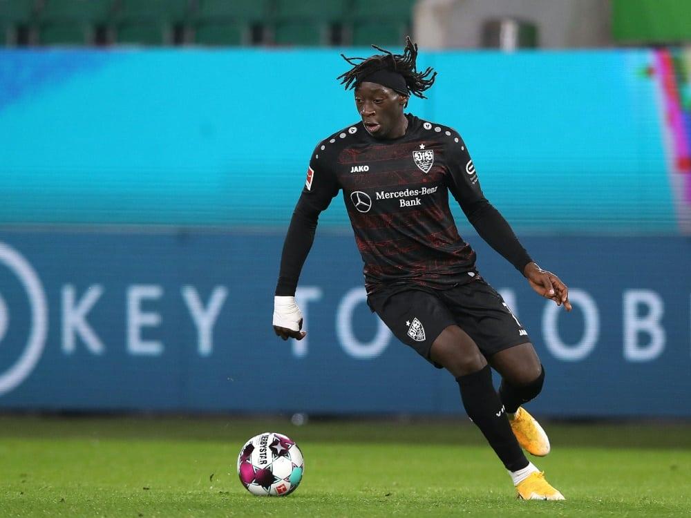 Coulibaly verpasst wohl die letzten Saisonspiele. ©SID RONNY HARTMANN