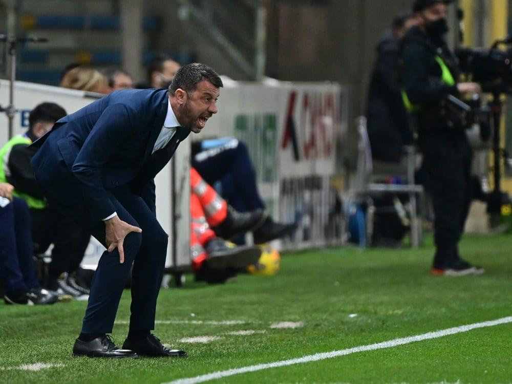 Das Team von Roberto D'Aversa steigt ab. ©SID MIGUEL MEDINA