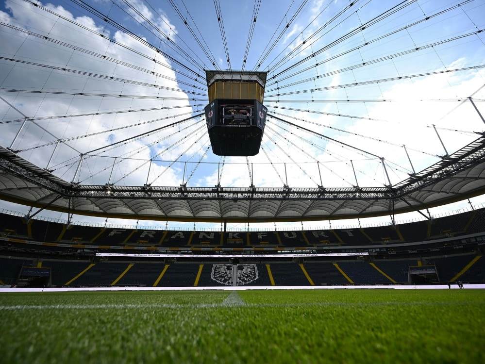 Austragungsort für ein Heimspiel der Eintracht-Frauen. ©FIRO/SID