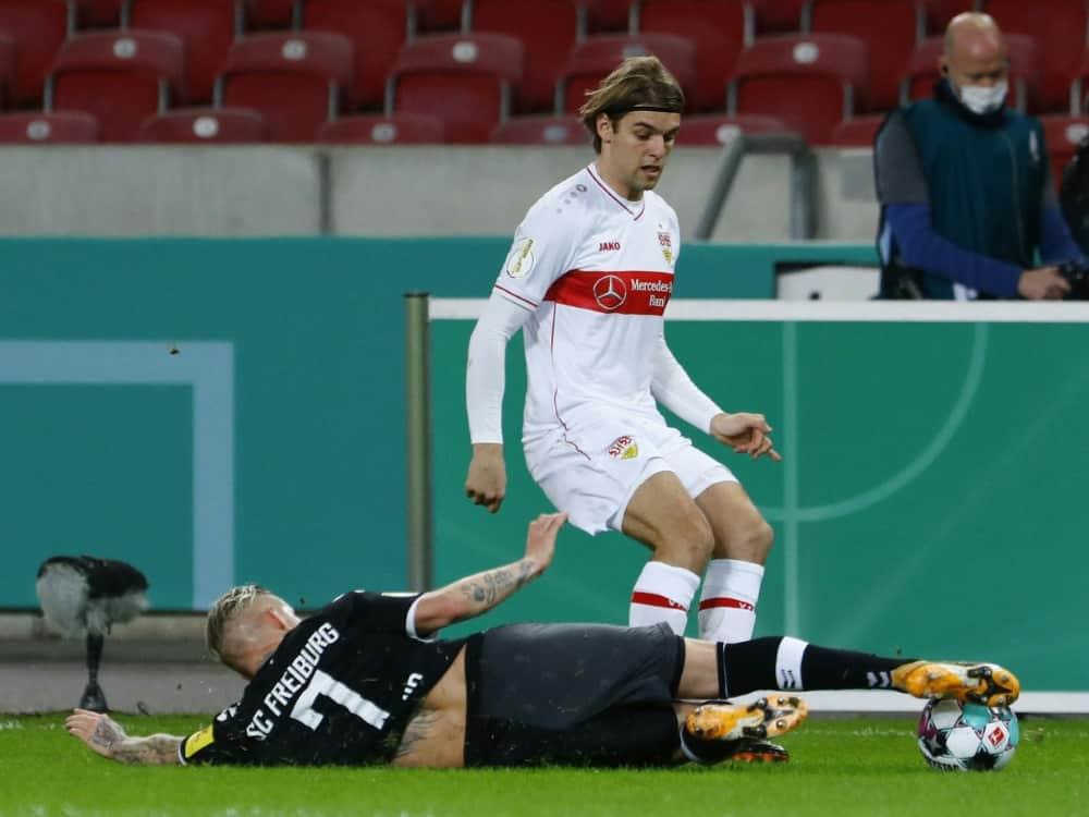Borna Sosa wird nicht für den DFB spielen. ©SID