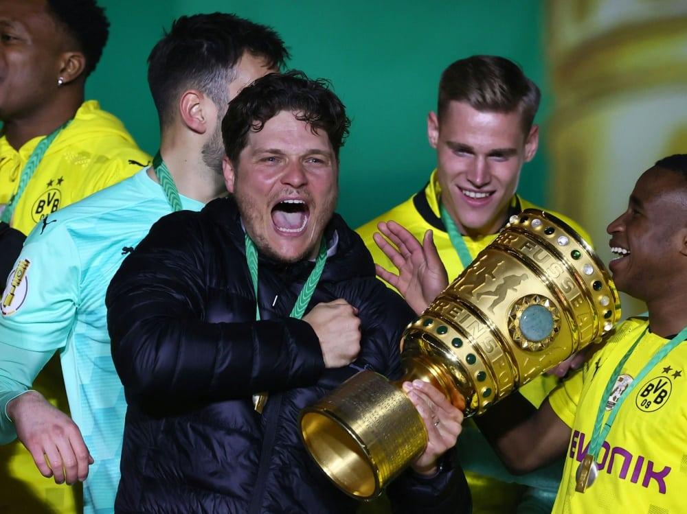 DFB-Pokal mit dem BVB: Edin Terzic. ©SID MARTIN ROSE