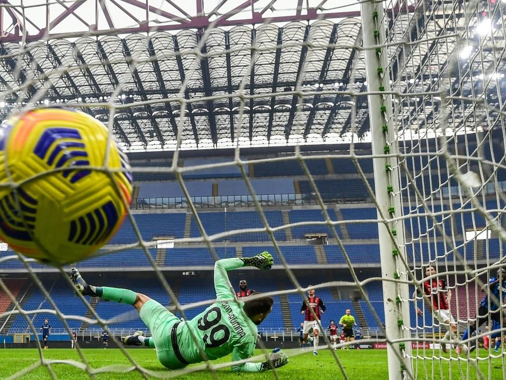Spielt nächste Saison in der Serie A: Der US Salernitana. ©SID MIGUEL MEDINA