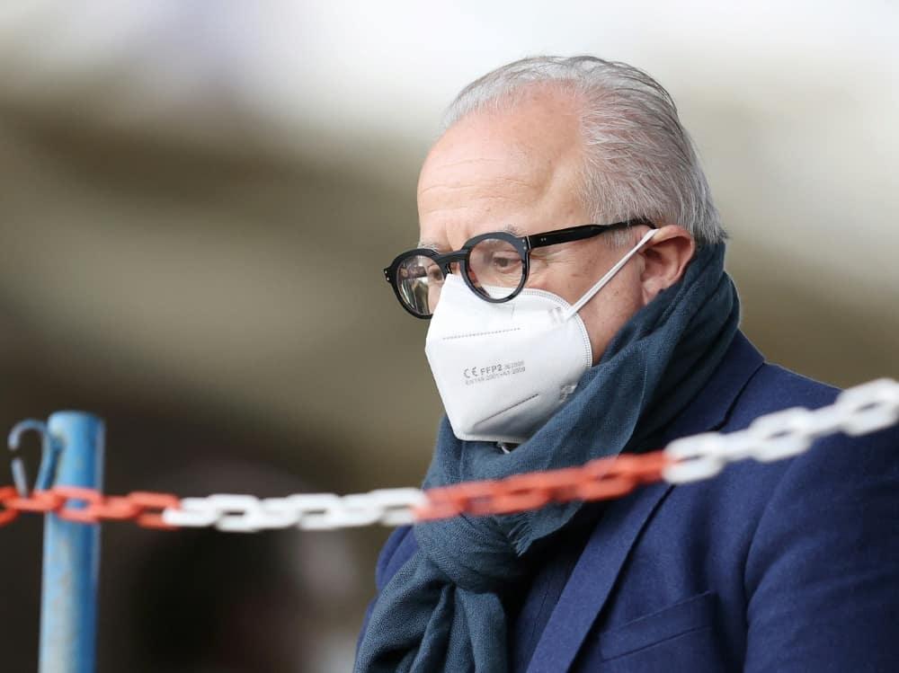 Fritz Keller will sich vor DFB-Sportgericht verantworten. ©FIRO/SID