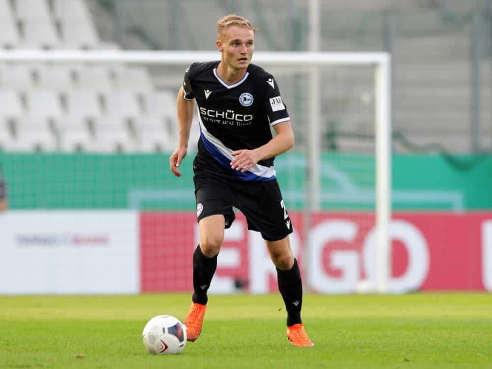 Amos Pieper sieht Bielefeld gut gerüstet . ©firo Sportphoto/SID firo Sportphoto/Ralf ibing