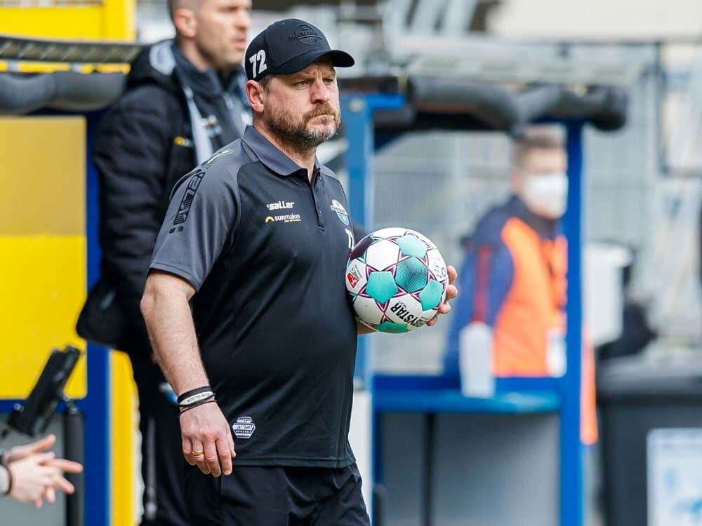 Steffen Baumgart übernimmt im Sommer beim 1. FC Köln. ©FIRO/SID